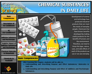 CHEMICAL SUBTANCES IN THE DAILY LIFE
