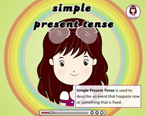 CHAPTER 1 - TENSES - SIMPLE PRESENT