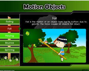 MOTION OBJECTS