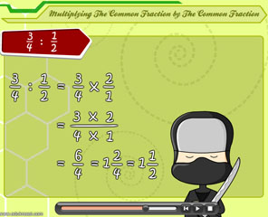 DIVIDING THE VARIOUS OF FRACTION FORMS