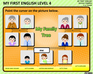 MY FIRST ENGLISH -LEVEL4